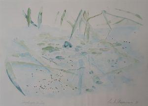 Spiegelung im See,1981