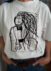 T-Shirt eva Art mit Copyright