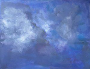 Nebel über Wasser und Himmel, 2019