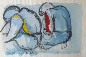 Die Blaue und die Gelbe, 1981
